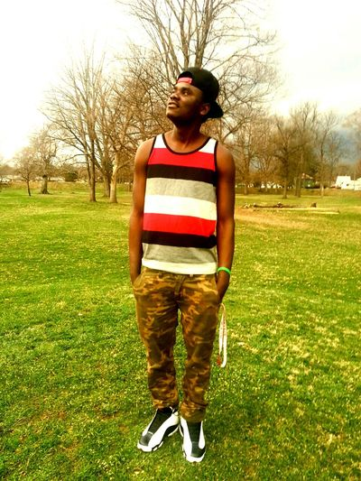 I'm an uptown soldier swagg addict