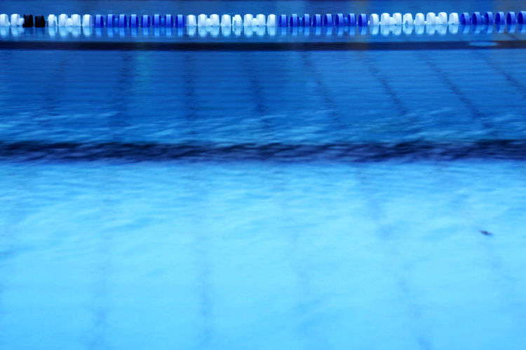 Swimming pool in water