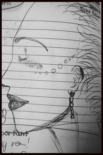 Queen Dessin Drawing Portrait