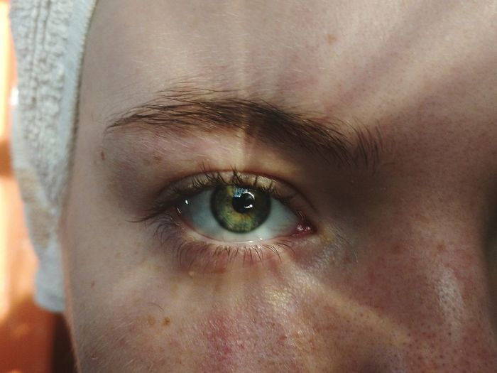 Smartphonephotography Close-up Eyelash Eyeball Eyesight Human Eye Eyebrow Portrait Looking At Camera Beautiful Woman Iris - Eye Blue Eyes Eyelid Eye Color Eye My Best Photo