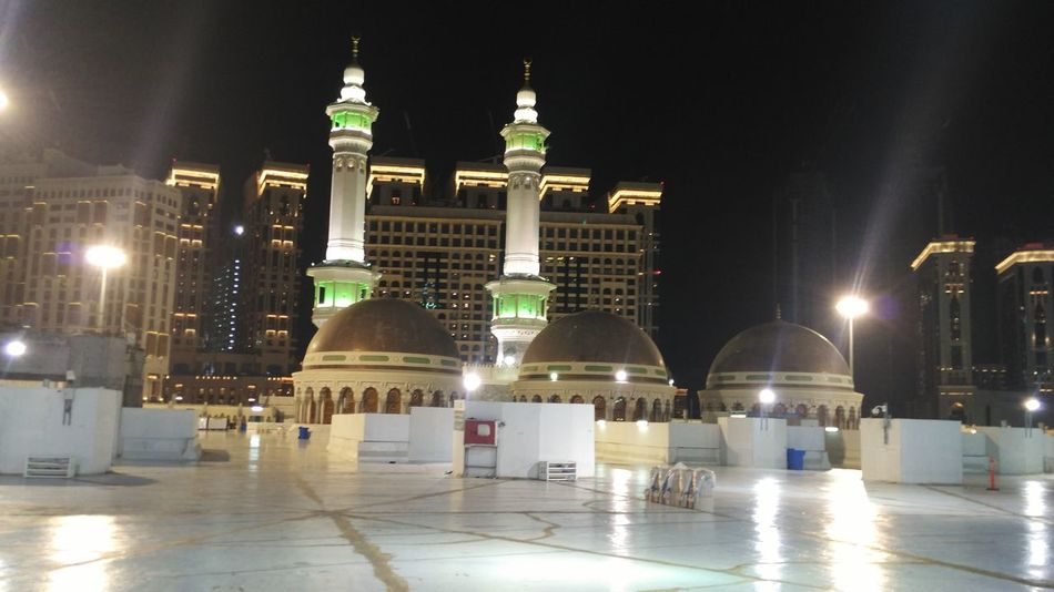 Masjidil Haram Masjid Al-Haram المسجد الحرام Makkah Masjid Mecca Makkah Night Illuminated Politics And Government Government Travel Destinations Architecture Politics