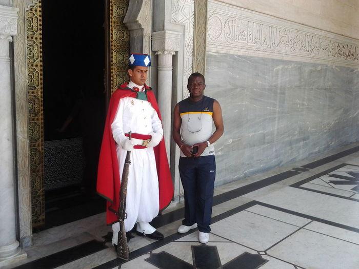 Jr en excursion à Rabat.