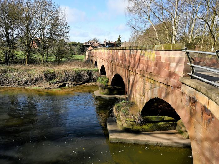 Stone Bridge Bridge Water Tree Bridge - Man Made Structure Connection Built Structure Plant River Nature Arch Arch Bridge Architecture Sky Reflection No People Day Bare Tree Outdoors