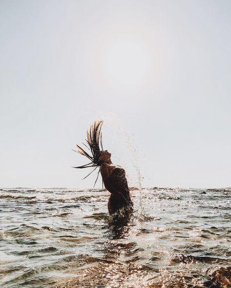 🌱 מייים מייליאור מייחיפה ShotOnIphone IPhoneX מייאייפון10 Sky Water Clear Sky Splashing Nature Copy Space A New Beginning Capture Tomorrow Moments Of Happiness 17.62° International Women's Day 2019 International Women's Day 2019 Analogue Sound