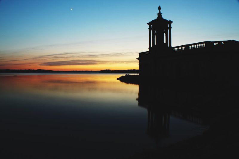 Beautiful Britain Sunset_collection Sunset Sunken Church Reclaimed By Nature Normanton Church Place Of Worship