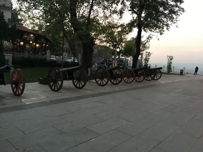 Ancient Cannons Bursa / Turkey History Place Osmangazi Ottoman Architecture Ottoman Empire Outdoors Tree