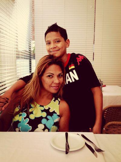 Mãe e filho.....