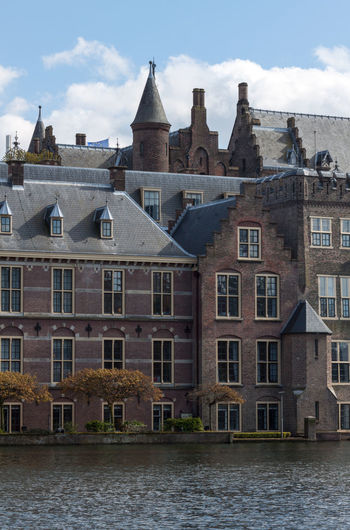 Architecture Building Exterior Built Structure Capital City Cloud Cloud - Sky Cloudy Day Façade Gracht Historic No People Outdoors Residential Building Sky Travel Destinations Water