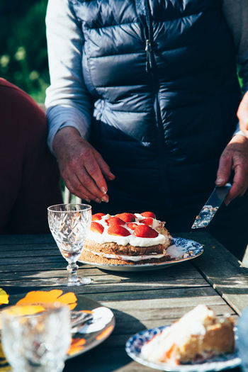 The Photojournalist - 2016 EyeEm Awards Birthday Cake Birthday Cake Strawberry Cream