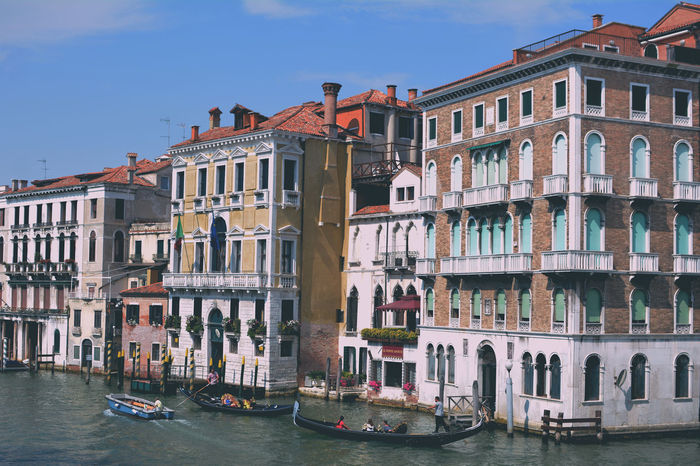Architecture City Grand Canal Love Venice, Italy Beauty Colorful Tourism Wather