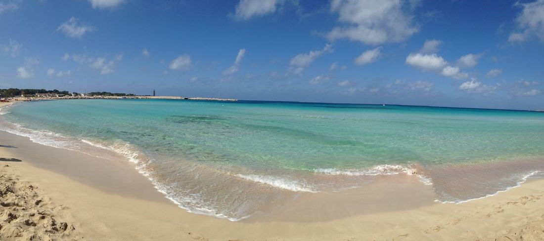 😍 One Year Ago Vacations Sicily ❤️❤️❤️ Idyllic Beach Sea Sand Turquoise Colored Sunny Nature San Vito Lo Capo Remembering This Moment