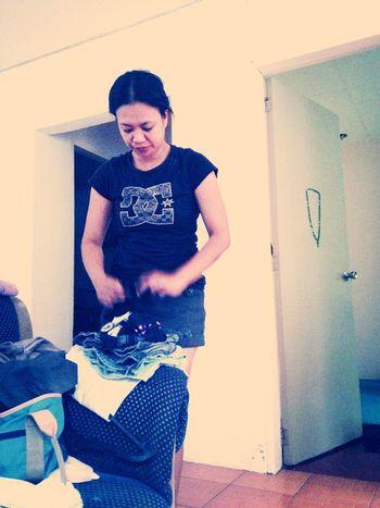 Doing Laundry