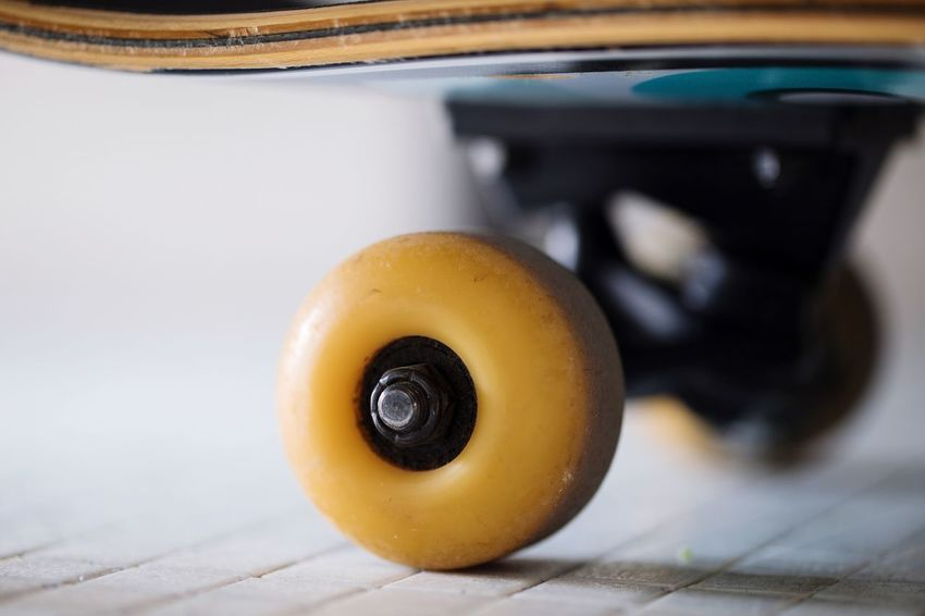 Skateboard for ever. No matter the obstacles always keep moving. Goals Vision Business Finance And Industry Entrepeneur Movement Circle Skateboarding Wheel Close-up Indoors  Still Life Wellbeing No People