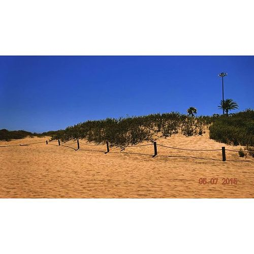 Dunes Sunny Day Missthis Summer Blue Sky Maspalomas Playadelingles