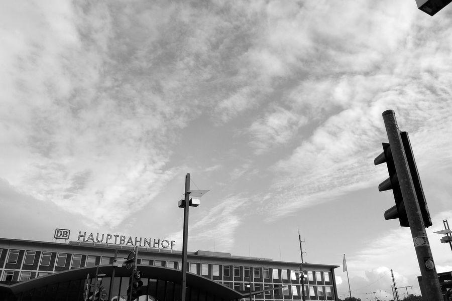 Bochum Blackandwhite Ruhrgebiet Fujifilm X-E2 Streetphotography Unterwegs Himmel
