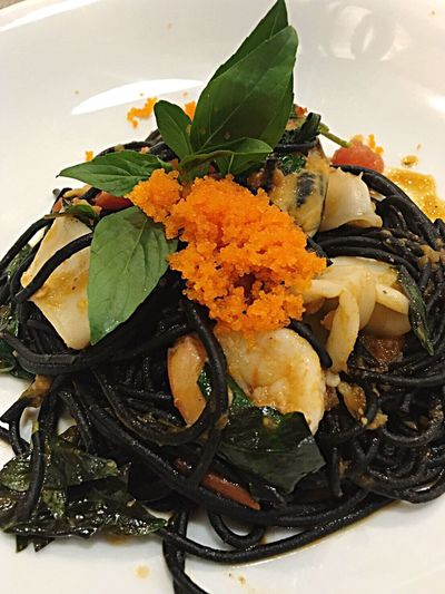 Spaketty Noodles Freshness Food Healthy Eating Plate Leaf Food And Drink Ready-to-eat No People Indoors  Close-up Flower