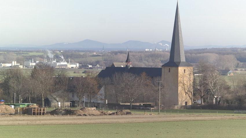 Church Dorf Kirche Medieval Mittelalter Rural Scene Timbering Village