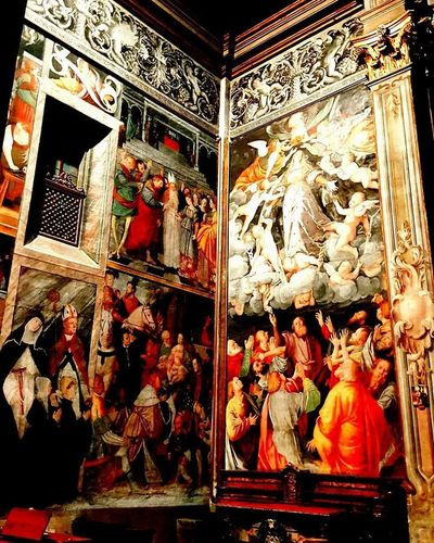Sancristoforo Chiesa Vercelli Chiese Affresco Affreschi