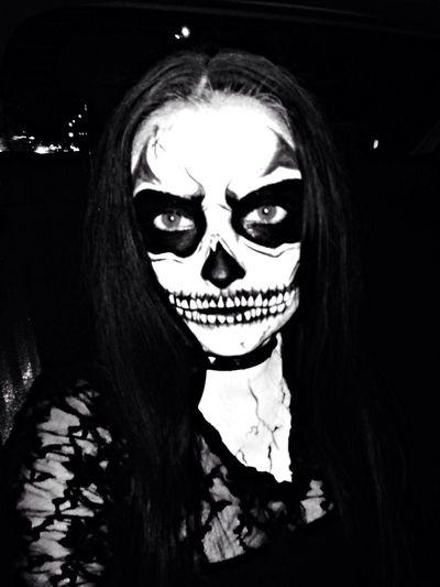 My Halloween Makeup ) Scary Face )