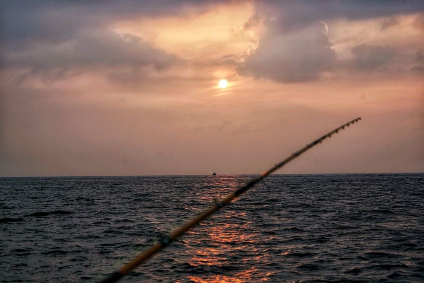 Korea Photos Cloudpark Sunpark Jeju Sunset Sea Sky Cloud - Sky Sun Sunlight Water No People Fishing Nature Outdoors Nautical Vessel Beauty In Nature Landscape Horizon Over Water Day Been There. Jejudo Done That. Fishing Time Streamzoofamily