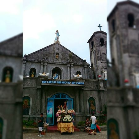 11 of 14 Our Lady of the Holy Rosary Parish Church - Luisiana [built during Spanish period] || Via Crucis 2015 . . . Lent2015 Viacrucis Church Heritage themanansala
