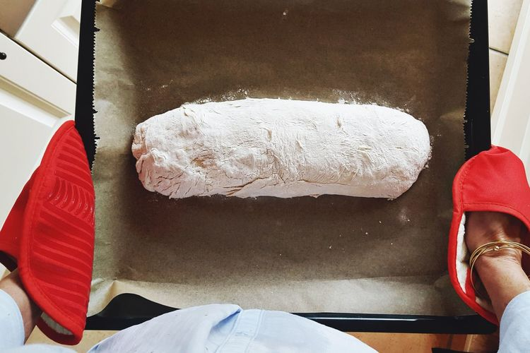 Baking Bread Food And Drink Freshness Homemade Homemade Food Knead Baking Ciabatta Ciabatta Bread Close-up Day Dough Flour Food Heathyfood Homemade Bread Human Body Part Human Hand Indoors  Italian Food Italy Kneading Dough Preparation  Preparing Food Still Life Food Stories