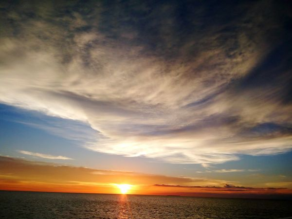 Mobile Photography Philippines DapitanCity Raw Photography Scenics Sunset Dramatic Sky Sea Horizon Over Water Water Reflection Tranquil Scene Nature Majestic Cloud - Sky Outdoors Landscape Beauty In Nature Tranquility Travel Destinations No People