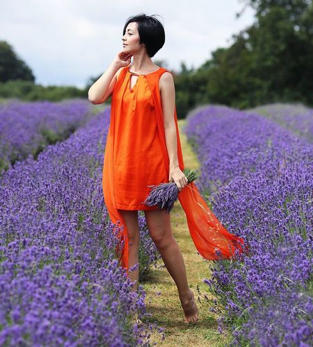 Lavender Hi! That's Me Check This Out Hello World Taking Photos Photography Photo Photoshoot Photooftheday Lavender Field Purple Orange England Colour Of Life