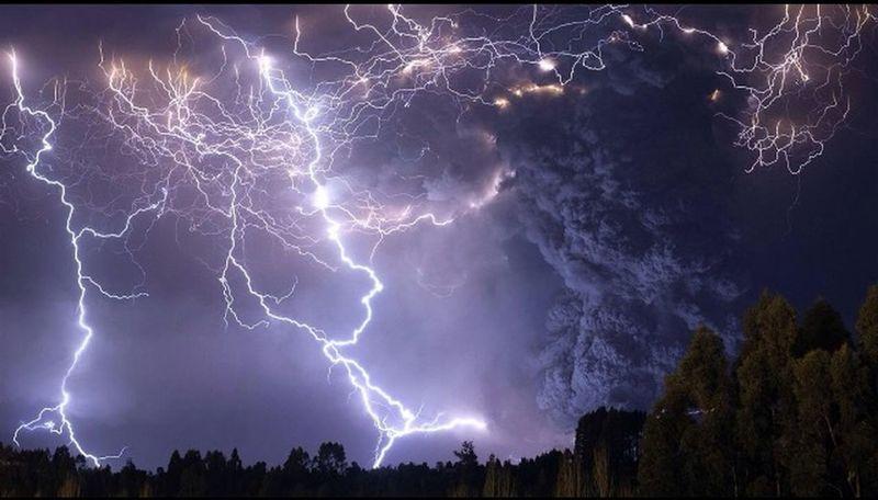 Eclair Tempête Nature Electrique