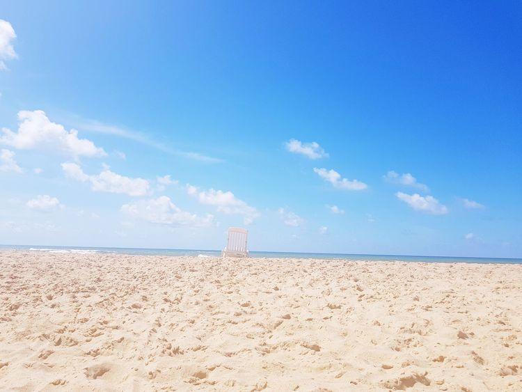 Peace of mind ... Sand Dune Arid Climate Beach Lighthouse Sand Summer Blue History