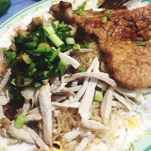 Show Us Your Takeaway! Porkchop Pork Barbecue Rice Vegetables Local Street Stall Streetphotography Vietnam Hochiminhcity