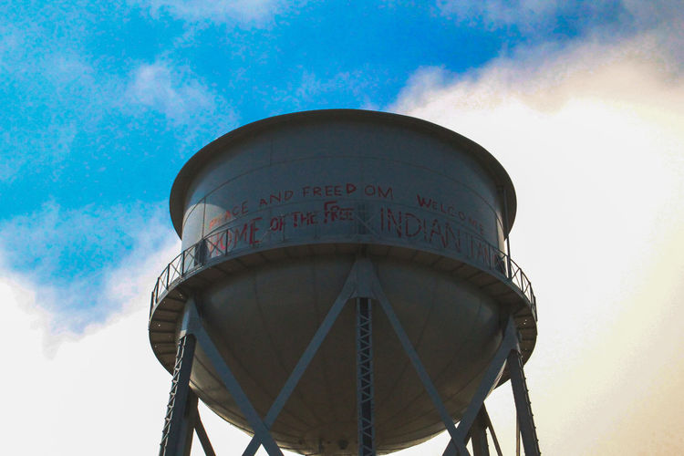 California San Francisco Alcatraz Island Watertower Prison Freedom Peace History