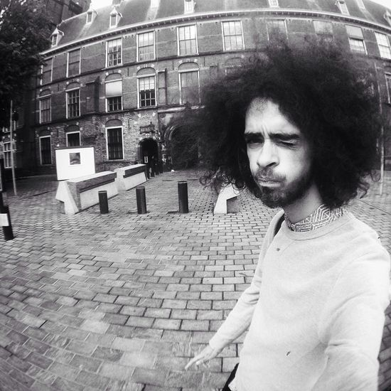 Streetphotography Selfie Fro Black & White