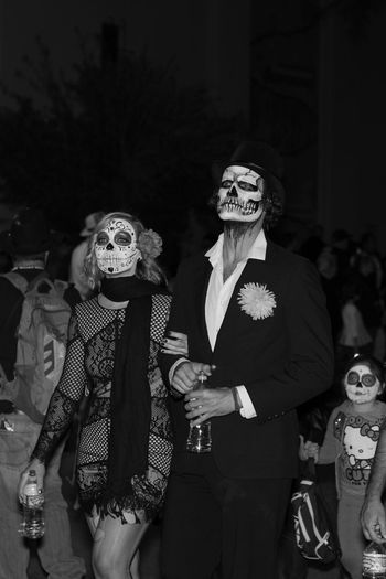 A date with death. Ghosts Lostsouls EventPhotography Artistsmind Hope Comnunity Remembering Mourning Creativity Tucson Az Capture The Moment Eye4photography  Myperspective Photography Thephotographer Blackandwhite Photography Nightphotography Outdoor Photography Festival MyPhotography Candid Photography Costume Allsoulsprocession.org B&w Street Photography The Photojournalist - 2017 EyeEm Awards