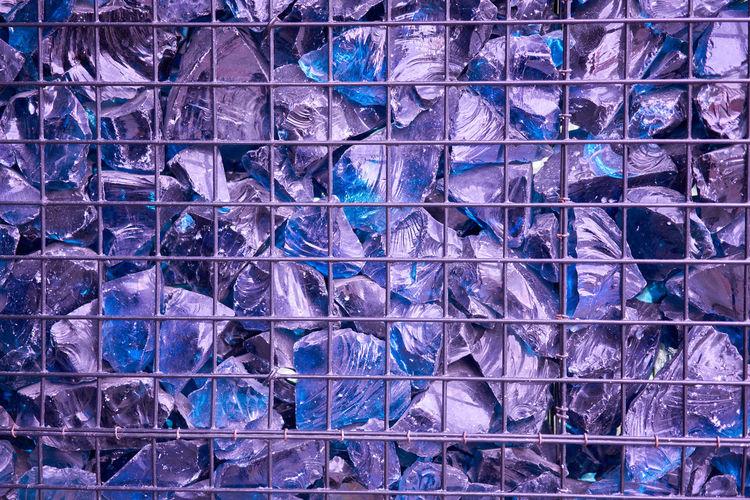 Full frame shot of glass wall