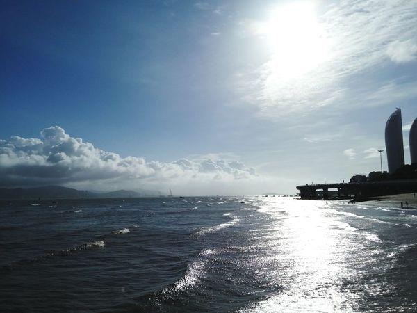 The Sea The Sea And Sun Sky