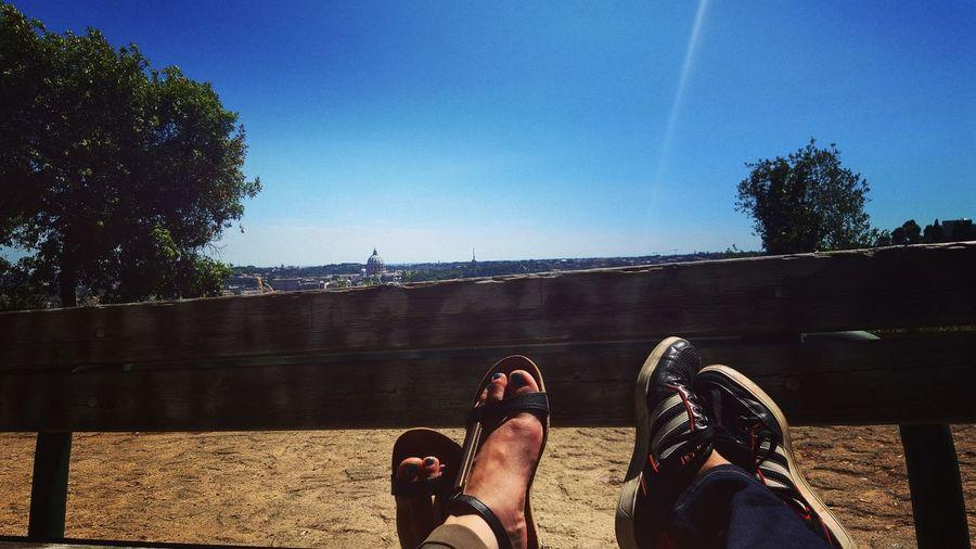 Sunny day Roma