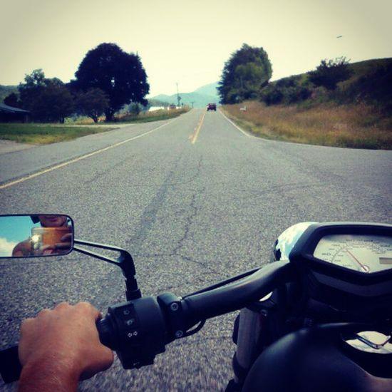 Riding all day. Twowheelsmovethesoul Hondafury