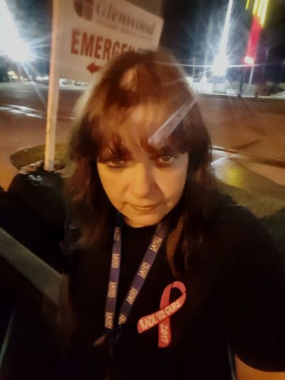 Race for Cure Race For Cure Cancerawareness Selfie Portrait