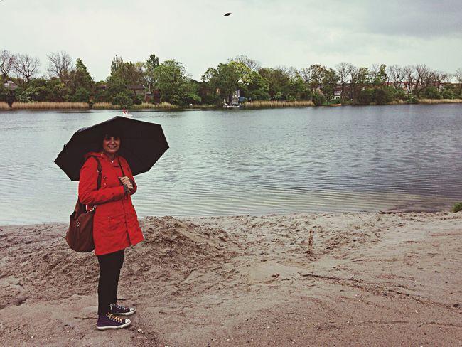 Where Do You Swarm? Enjoying Life Hang Out Rain And Umbrella