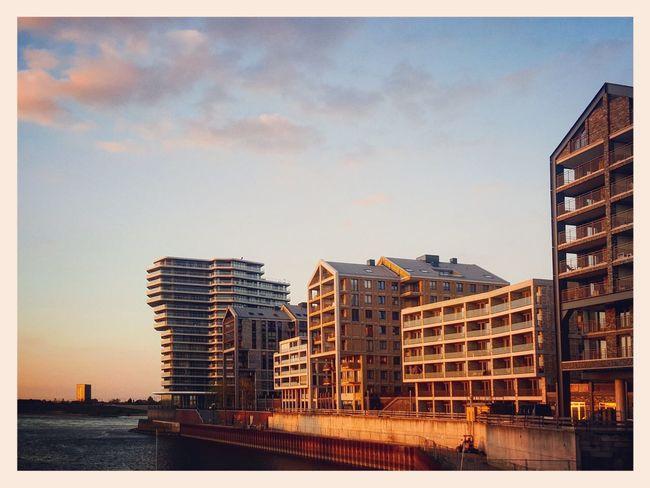 sunset Nijmegen waal harbor handelskade Nijmegen Handelskade Waalhaven Sunset Architecture Skyline The Netherlands River Waal