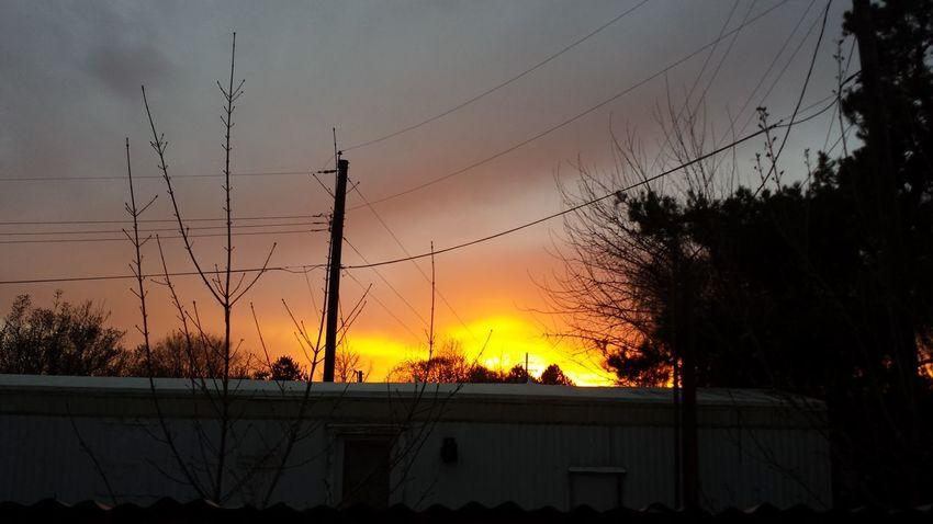 March 25, 2014. Boise, Idaho Sunset Sky Skyporn Clouds