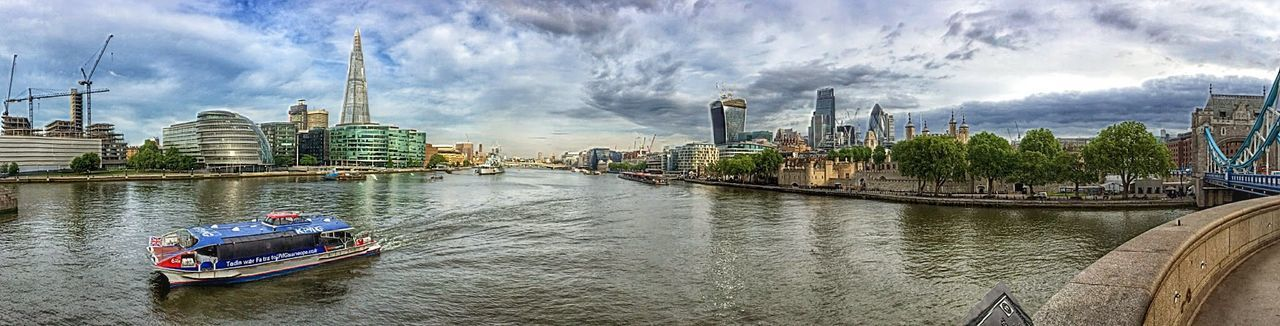 The view on my walk to work on Tuesday morning.... London Skyline The Architect - 2014 EyeEm Awards