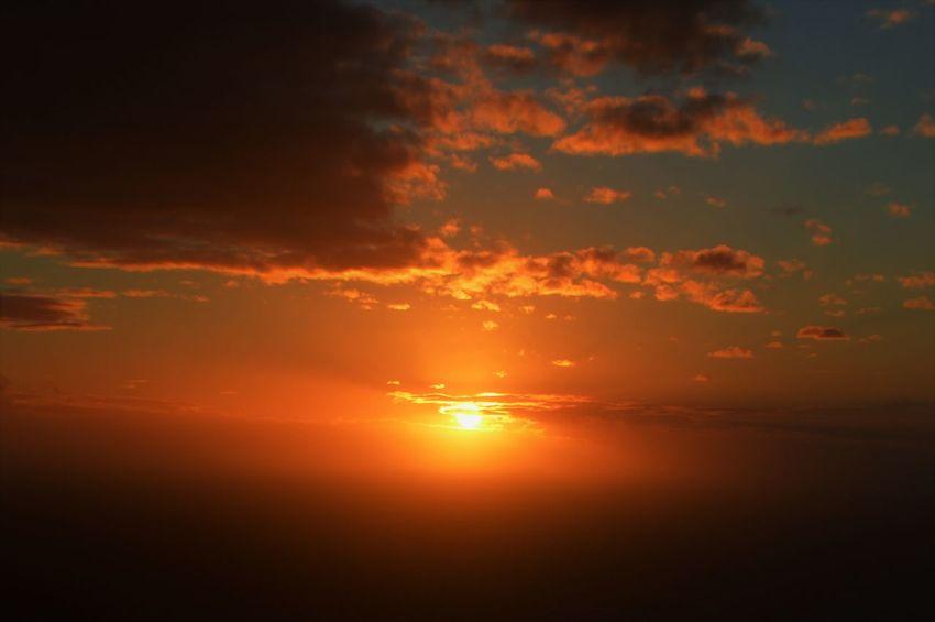 Atmosphere Atmospheric Mood Cloud Cloud - Sky Cloudscape Cloudy Dramatic Sky Dusk Glowing Light Majestic Moody Sky Orange Color Outdoors Overcast Silhouette Sky Storm Cloud Sunset Tranquil Scene