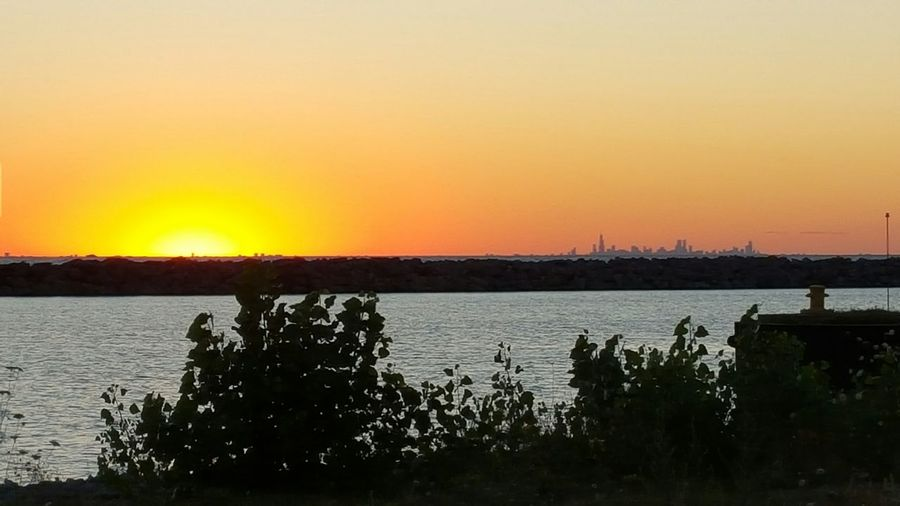 More sundown fotos. Skyline Chicago