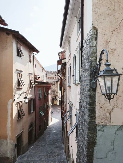 R I V A Riva Del Garda Italy Built Structure Building Exterior Architecture Building Sky Day Residential District City Wall - Building Feature No People Street Wall