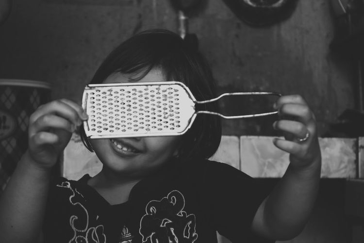 EyeEm Selects One Person Kid Girl Place Of Heart Live For The Story EyeEmNewHere The Portraitist - 2017 EyeEm Awards Black And White Black And White Photography EyeEm TOA 2017 Kitchen Utensils Kitchen Hiding Face Smile Breathing Space Portrait Funny Child Mix Yourself A Good Time Rethink Things Black And White Friday Be. Ready. Inner Power This Is Family This Is My Skin #FREIHEITBERLIN 10 A New Perspective On Life Moments Of Happiness