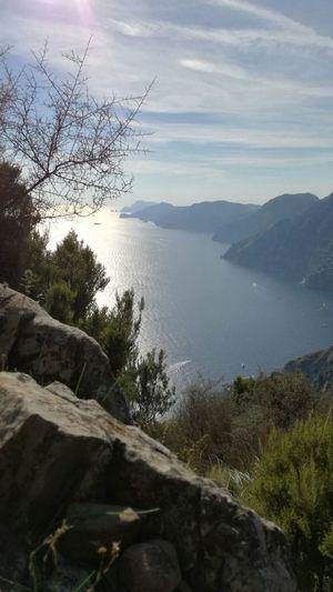 The path of the gods. Positano