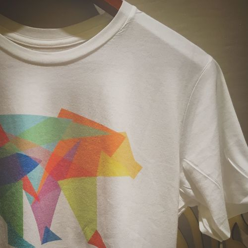 Close-up No People Day Tshirt Bear Colorful Favorite From Bangkok Design Simple