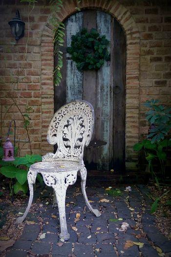 Secret Garden Garden Chair Vintage Chair Gate Garden Hidden Places Bangkok